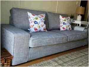 Ikea Kivik Grey 3 seat sofa &*guest bed*(not sofa bed)