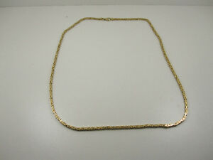 Brand NEW 14 K Gold Fully Solid Chain for Sale !