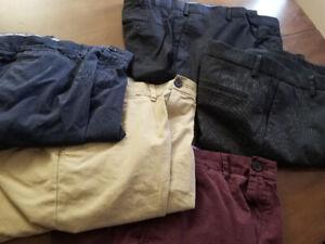 """New Dockers Custom Fit +3 Tommy Hilfigur Slim Fit 36""""x32"""" Pants"""