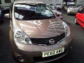 2010 NISSAN NOTE 1.4 N Tec From GBP5650+Retail Package