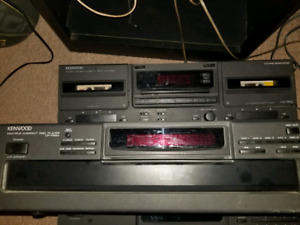 KENWOOD DECKS/STEREO PLAYERS