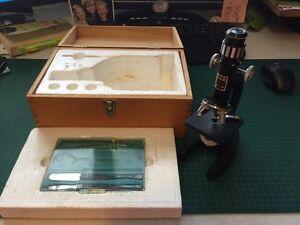 Classic student microscope