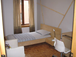 ROOM IN DOWN TOWN,3 MIN WALK TO PAPINEAU METRO ALL INCLUSIVE