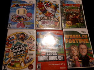 Nintendo Wii games...can play in Wii U
