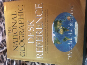 National Geographic Books!!