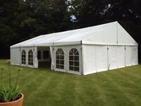 marquee hire for corporate events, weddings and home events in London and the South East of England