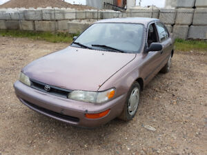 1993 Toyota Corolla Foresale low Kms