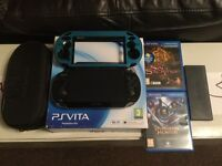 Sony PS Vita as new condition + games/extras.