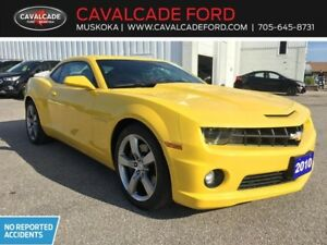2010 Chevrolet Camaro 2SS Coupe with moonroof and leather seats!
