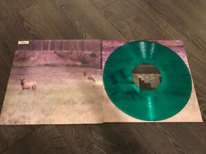 Seahaven Ghost/Acoustic Vinyl Record Rare Green punk Emo