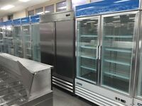 Coolers and freezers new and used