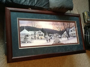 Cherrywood Framed Picture