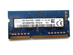 4GB kit 2x2GB PC3-12800S DDR3 1600MHz 204-Pin