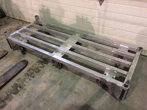 Chariot mobile en aluminium - Grande capacité West Island Greater Montréal image 5