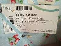 X2 Steel Panther Tickets