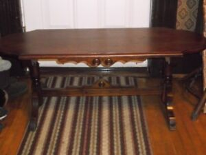 for sale  vintage coffee table