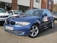 2009 59-Reg BMW 123D SE,MONTEGO BLUE,1 OWNER,FULL BMW HISTORY!!!!
