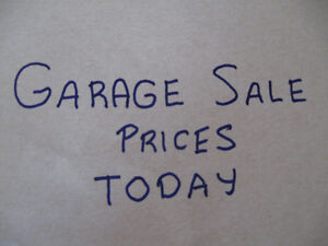 GARAGE SALE PRICES,VINTAGE : R/ A CUPS/SAUCERS,CHILD CHAIR,