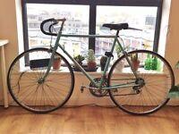 "Vintage Men's or Women's Peugeot Helium racing road bike perfect condition 22"" 57cm"