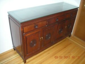 Chinese antique cabinet ( 3 drawers )