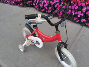 2 kids bikes - Spiderman and Red Sport (Victoria Park Station)