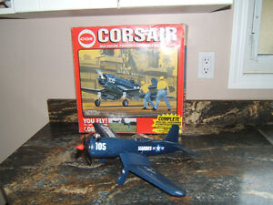 VINTAGE TOY AIRPLANE Cox .049 New In Box Corsair