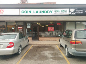 Laundromat, Dry-Cleaning, and Tailoring For Sale Kitchener!!