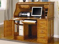 Ashley Furniture Roll Top Desk