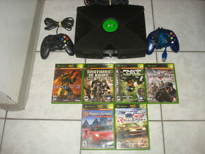 Original Xbox w/2 Controllers & Over 3500 Games!