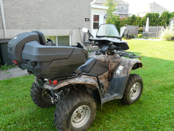 Used 2013 Honda TRX420PG Canadian Trail Edition ATV