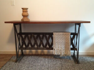 Stonewaters Solid Wood Console Table