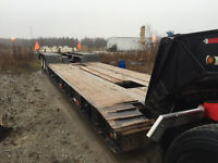 50 Ton King Lowboy Trailer