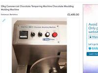 Prefamac 15 kg chocolate tempering moulding machine