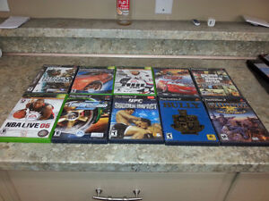 ** Various Playstation 2 & Xbox games for sale **
