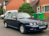 LHD 2003 Rover 75 2.0 CDTi Estate left hand drive