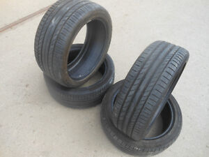 19 Inch Continental ContiSportContact 5SSR Tires