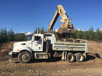Wanted Gravel truck driver, box truck and Belly Dump, Camp Work