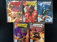 Comics Forever Evil Rogues Rebellion #2-3-4-5-6