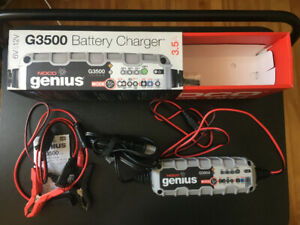NOCO Genius G3500 Car Battery Charger w/  2yeas 8Mths warranty