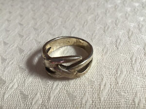 Sterling Silver Riding Ring