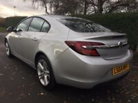 Vauxhall Insignia DESIGN 2.0CDTi (140PS) ecoFLEX S/S (silver) 2014