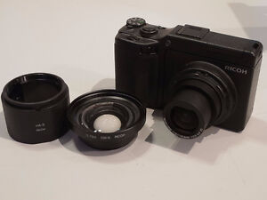 Ricoh GXR S10 10MP Digital Camera w/ DW-6 Wide Lens