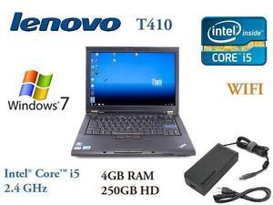 IBM Lenovo ThinkPad T410, T420, T430, T430s, X220 Laptops - i5, i7