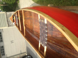Beautiful Handcrafted 16ft Canoe