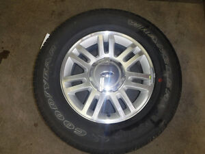 Set of four 18'' Alloy wheels & tires for 04-14 Ford F150
