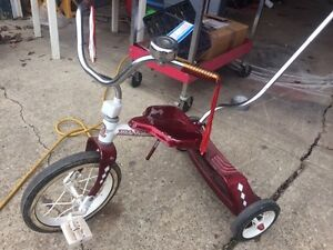 Old school steel trike