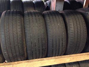 4 Bridgestone 205/55/16 all season installation available