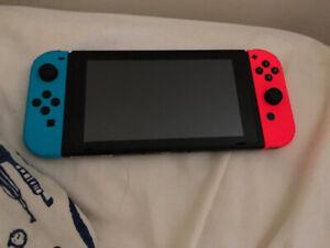Pristine Nintendo Switch Console Neon