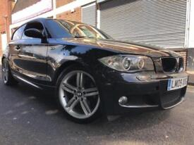 BMW 1 Series 2009 2.0 118d M Sport 3 door 3 MONTHS WARRANTY, HUGE SPEC, BARGAIN