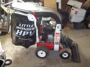 Little Wonder HPV Vacuum self propelled